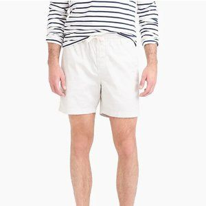 """J. Crew 6"""" dock short in stretch chino size small"""